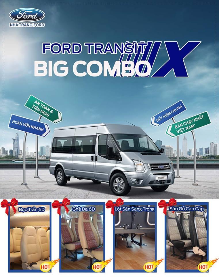 Khuyến mãi lớn dành cho Ford Transit SVP