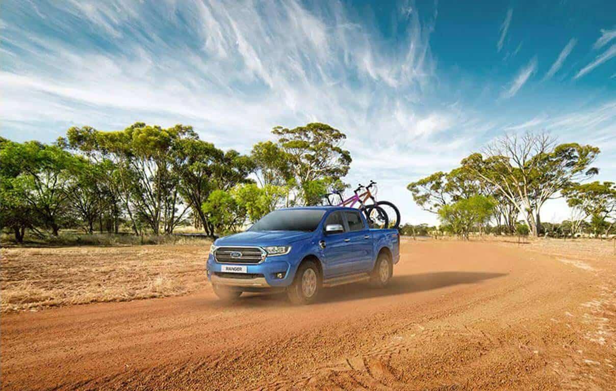 Ford Ranger Thiết kế đa năng
