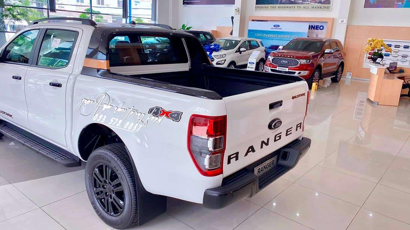Ngoại thất xe Ford Ranger Wildtrak 4x4