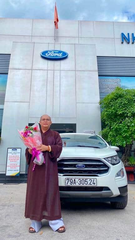 Giao xe Ford Ecosport Titanium 2021 ở Nha Trang