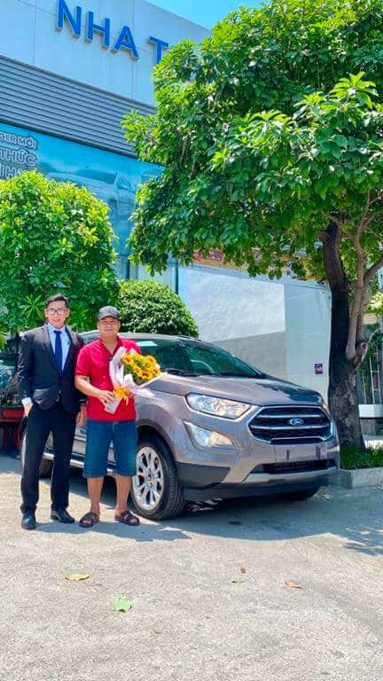 Giao xe Ford Ecosport Titanium 2021 ở Phú Yên