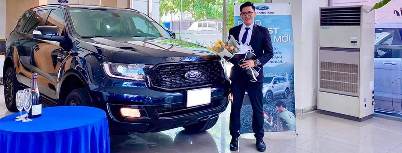 Giao xe Ford đến Quý khách hàng trong năm 2021