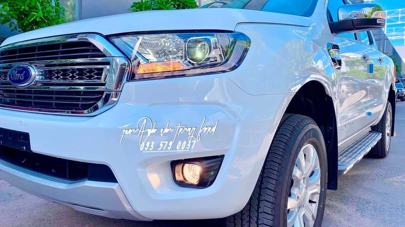 Ngoại thất Ford Ranger Limited 4x4 2021