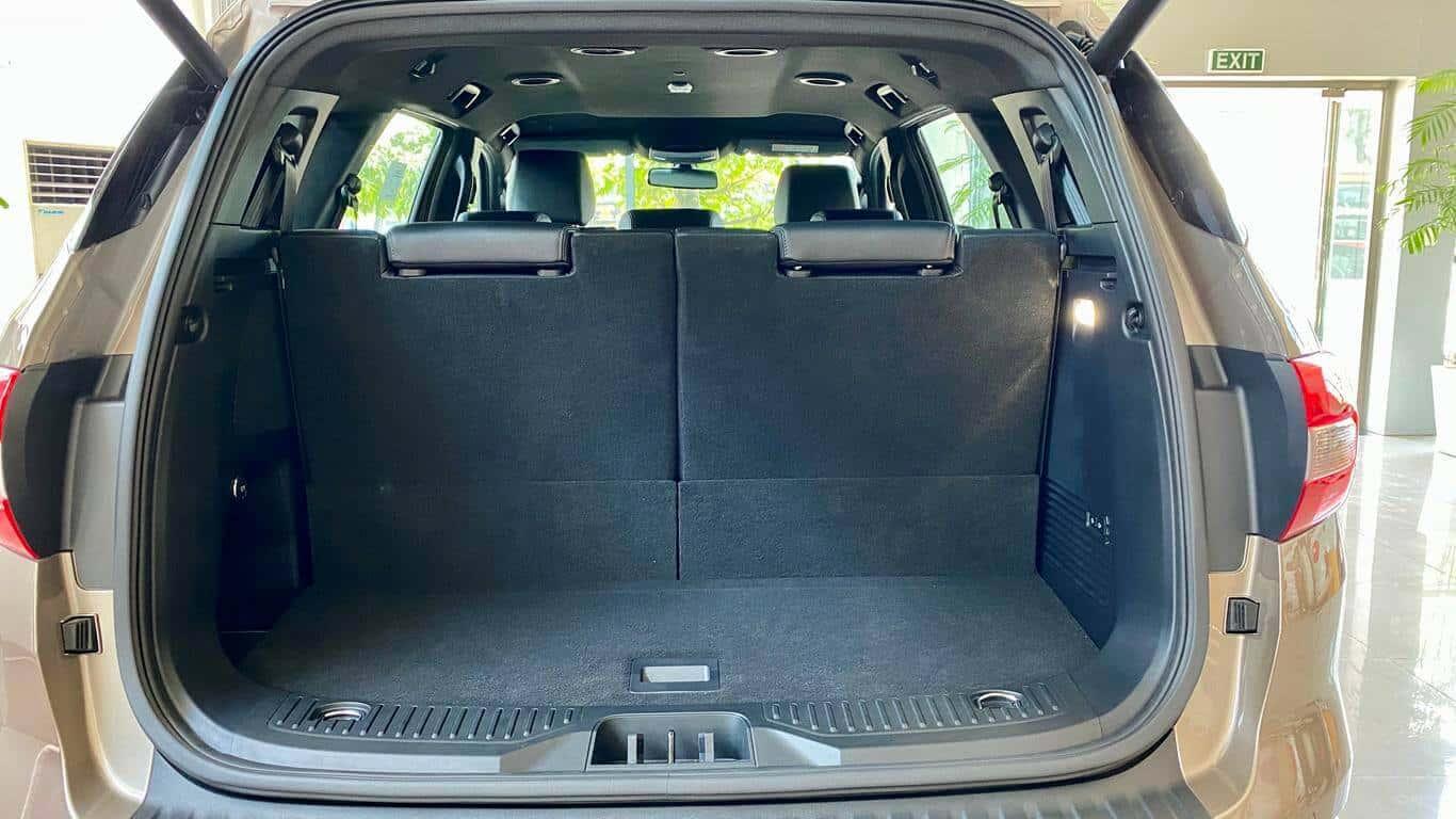 Nội thất Ford Everest Titanium 4x4 2021