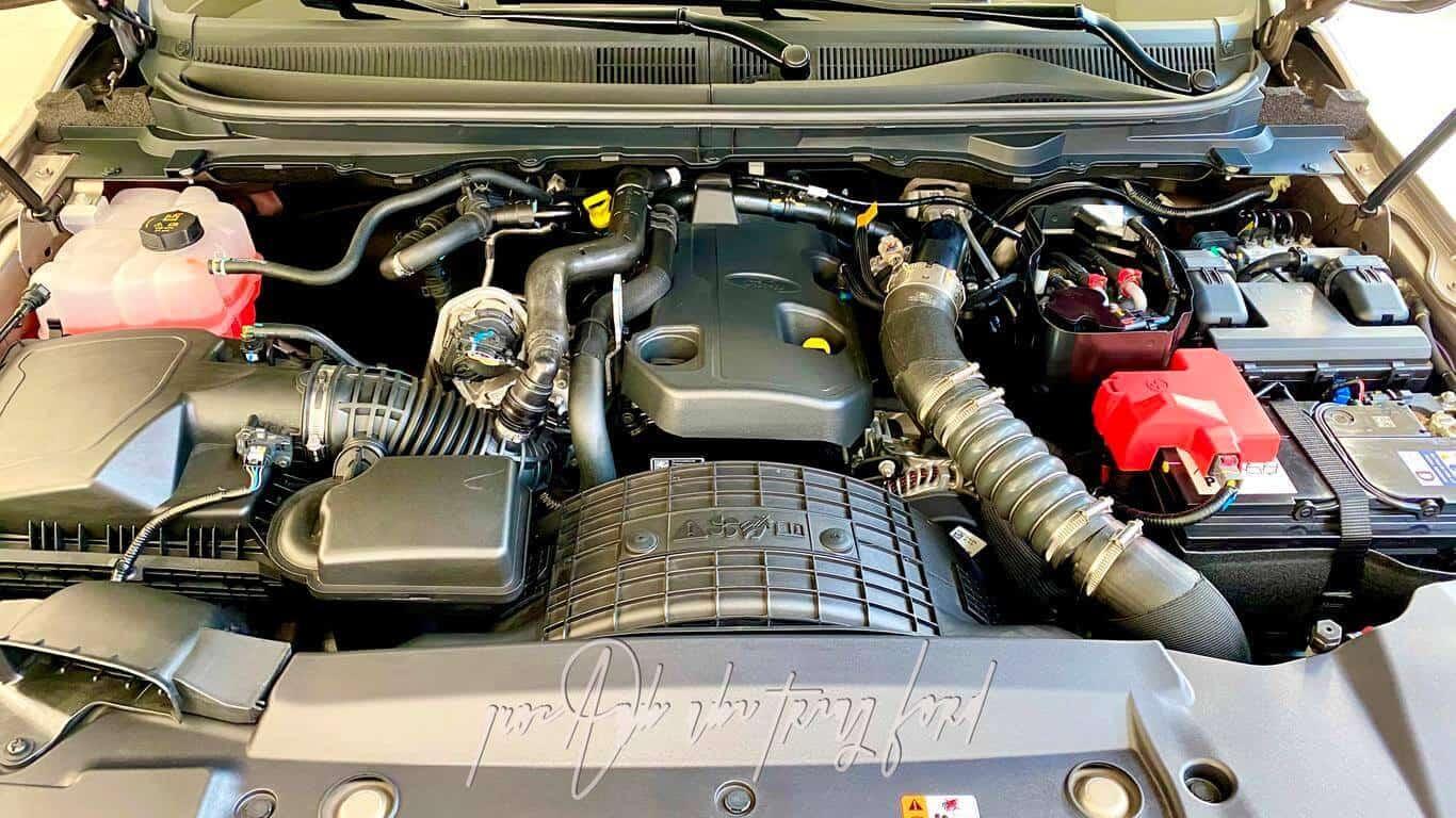Động cơ Ford Ranger Limited 4x4 2021