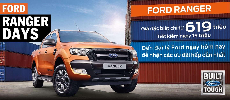 Khuyến mãi Ford Ranger