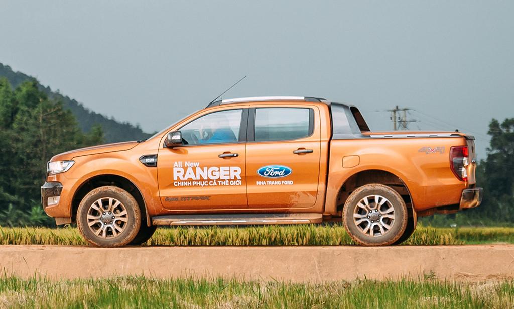 Ford Ranger đang đứng trên đỉnh phân khúc xe bán tải.