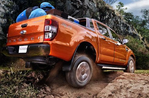 Ngoại thất xe Ford Ranger