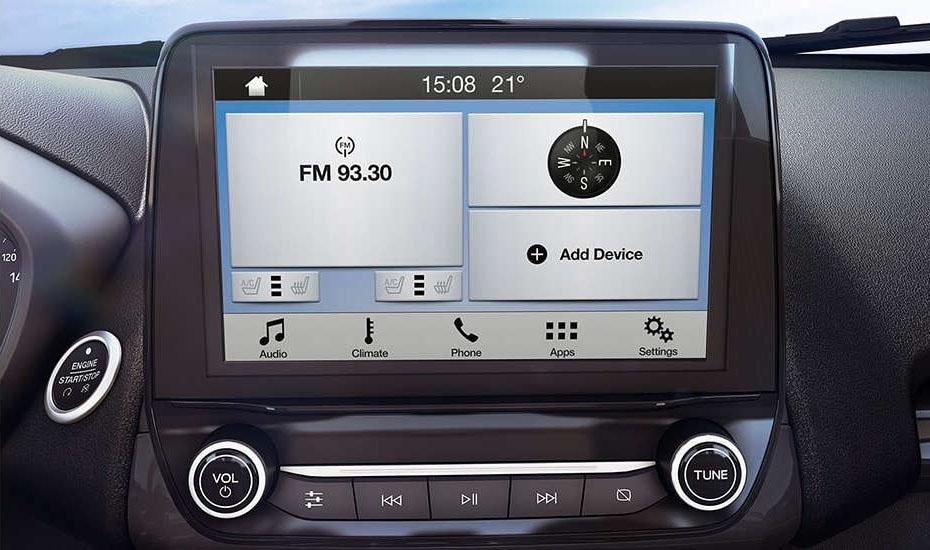 Công nghệ Thông minh của xe Ford Ecosport