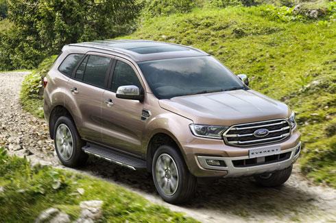 Ngoại thất xe Ford Everest