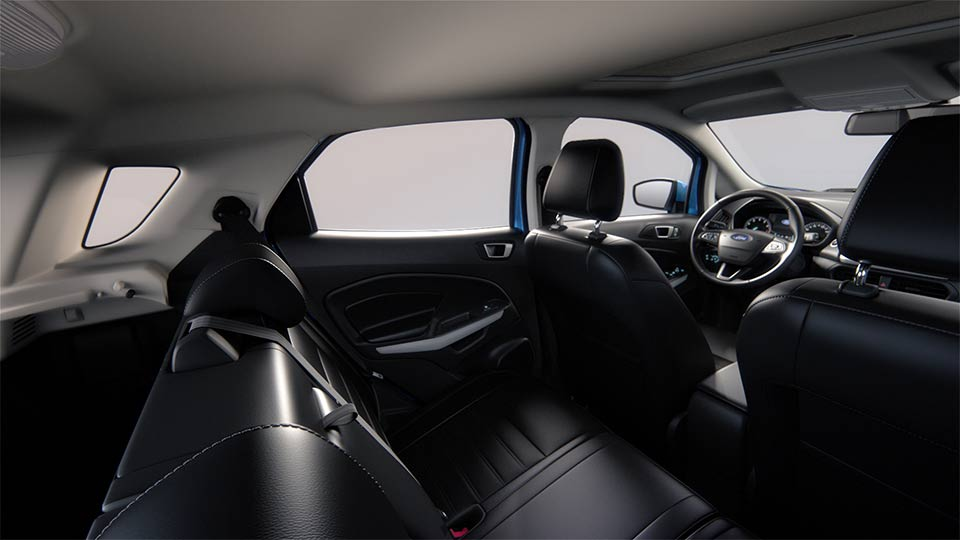 Nội thất xe Ford Ecosport