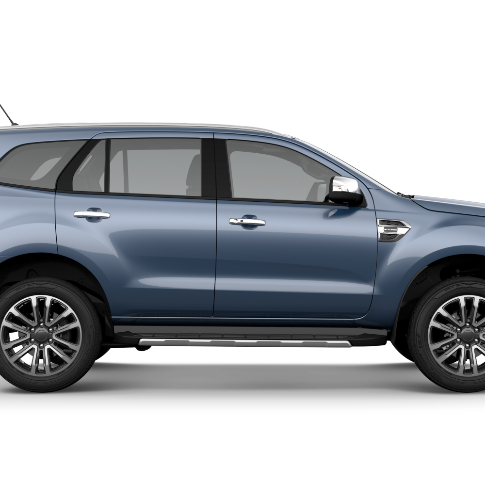 Ford Everest 2018 Blue Reflex Metallic
