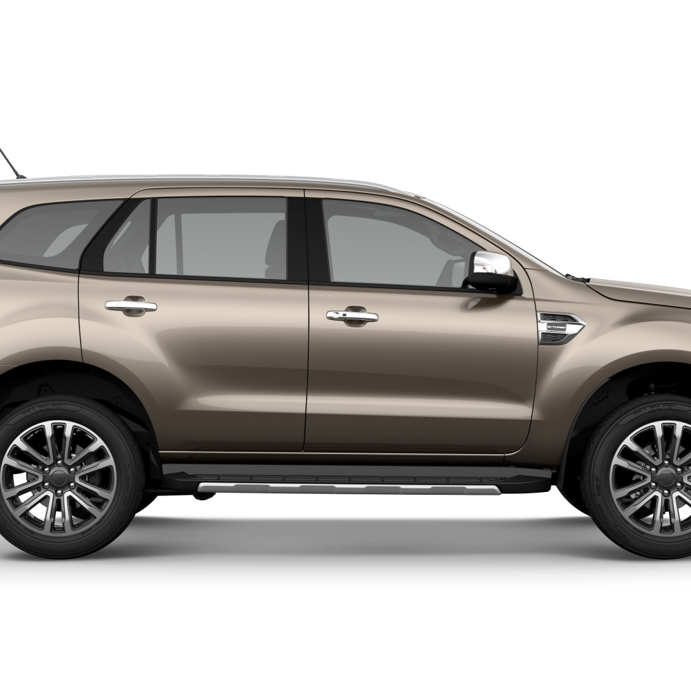 Ford Everest 2018 Diffused Silver Metallic