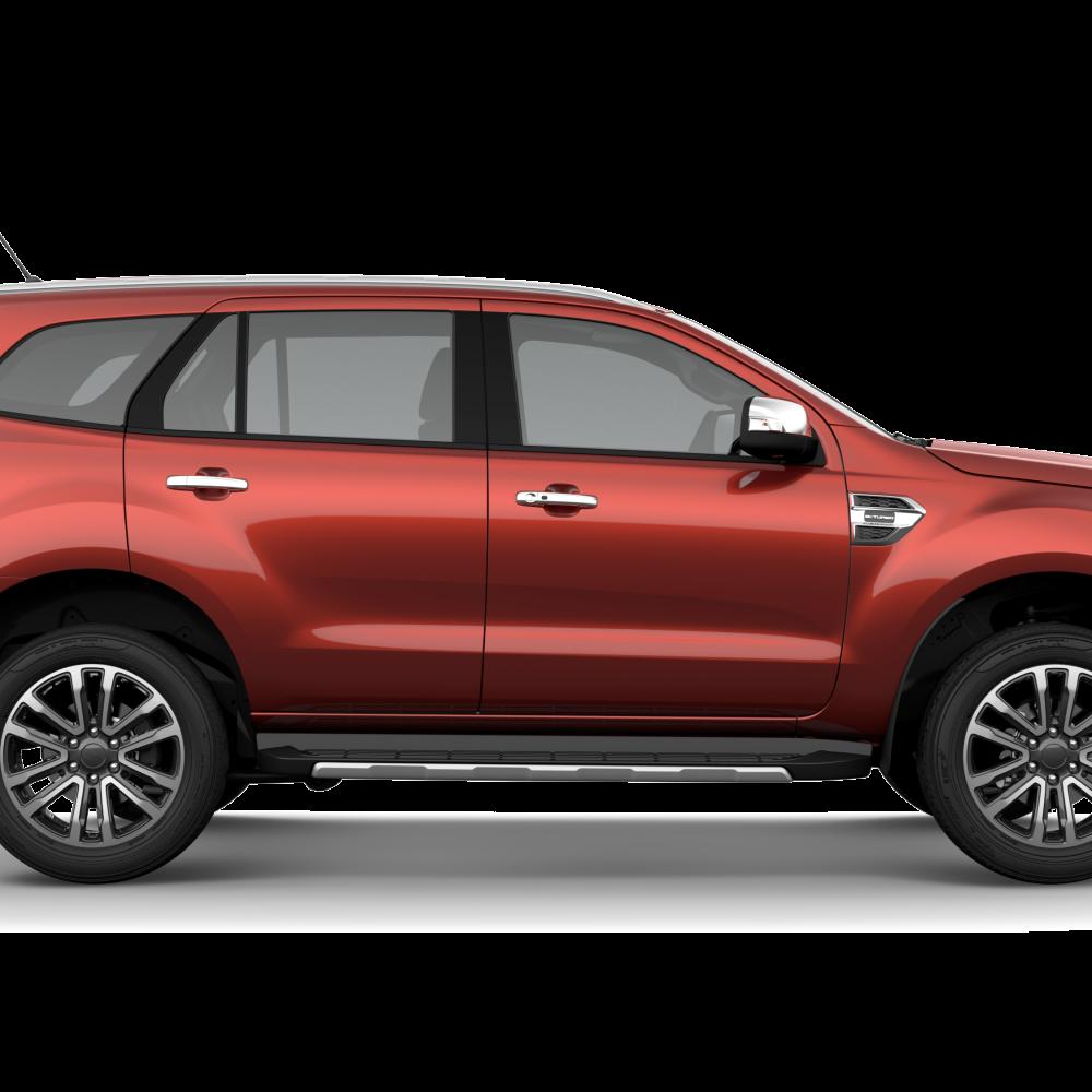 Ford Everest 2018 Sunset Metallic