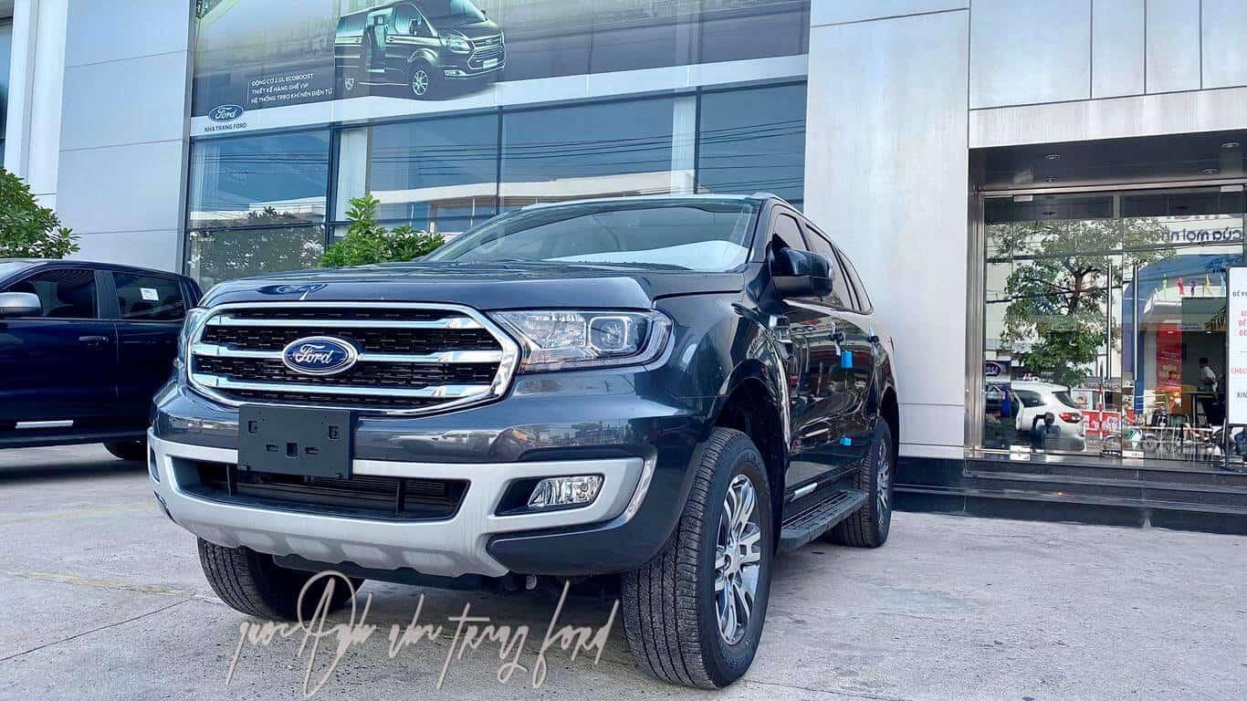 Ford Everest Trend: Thông số kỹ thuật, giá xe