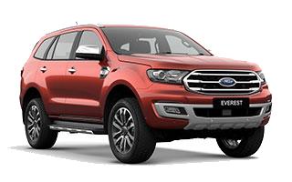 Ford Everest Titanium + 2.0L Turbo 4x2 10AT