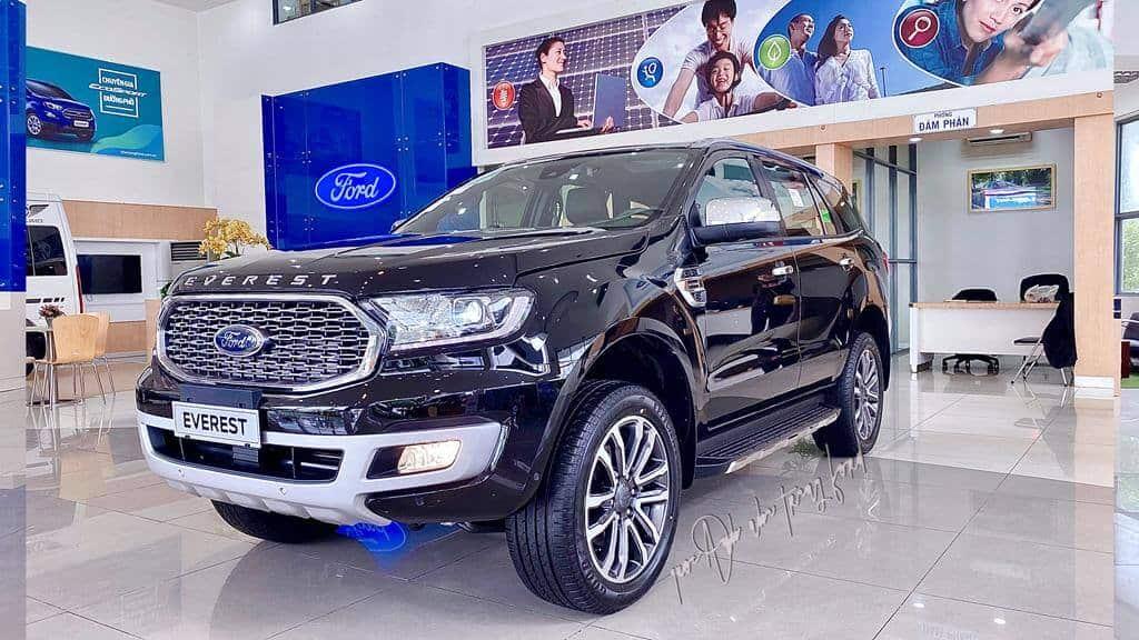 Ford Everest Titanium 4x4 Biturbo: Thông số kỹ thuật, giá xe