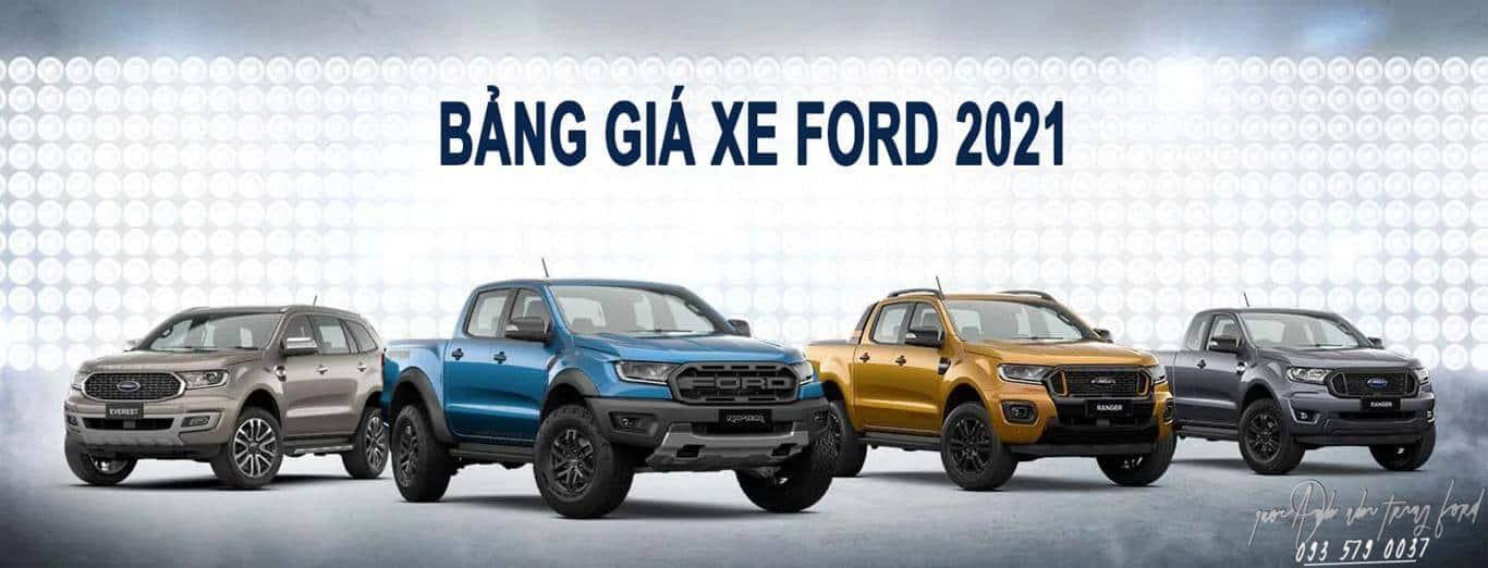Ford Nha Trang - Bảng giá xe Ford ở Nha Trang