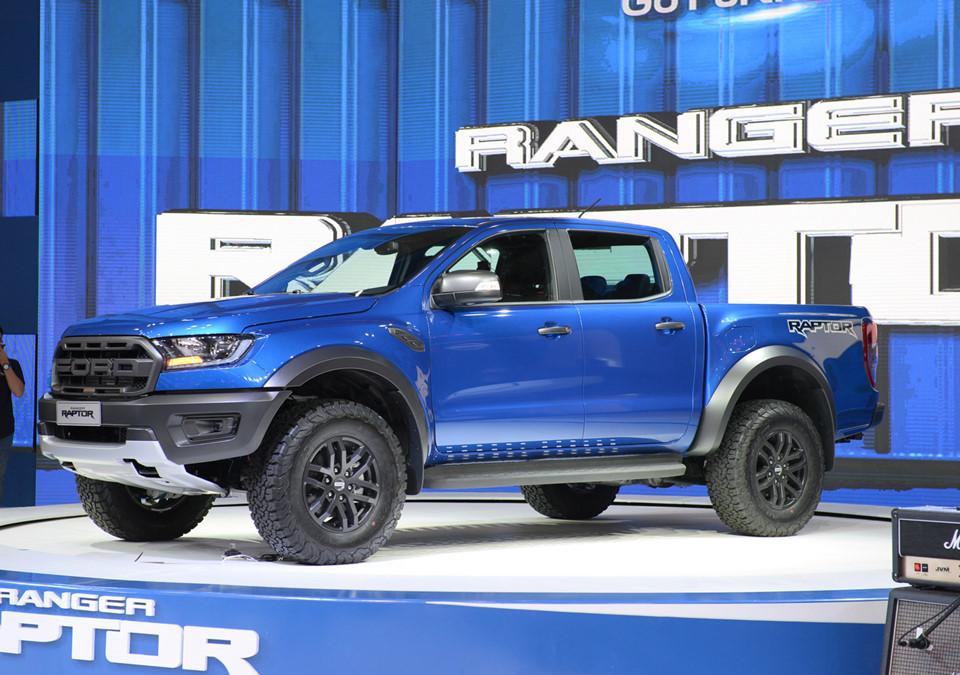 Ford Ranger Raptor ra mắt tại VMS 2018, giá 1,2 tỷ đồng