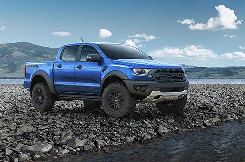 Ngoại thất Ford Ranger Raptor 2019