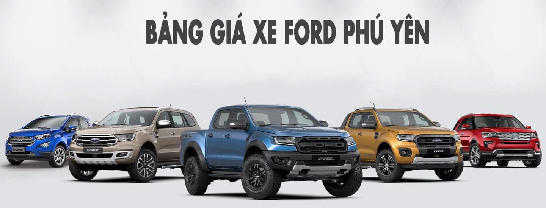 Ford Phú Yên - Bảng giá xe Ford ở Phú Yên
