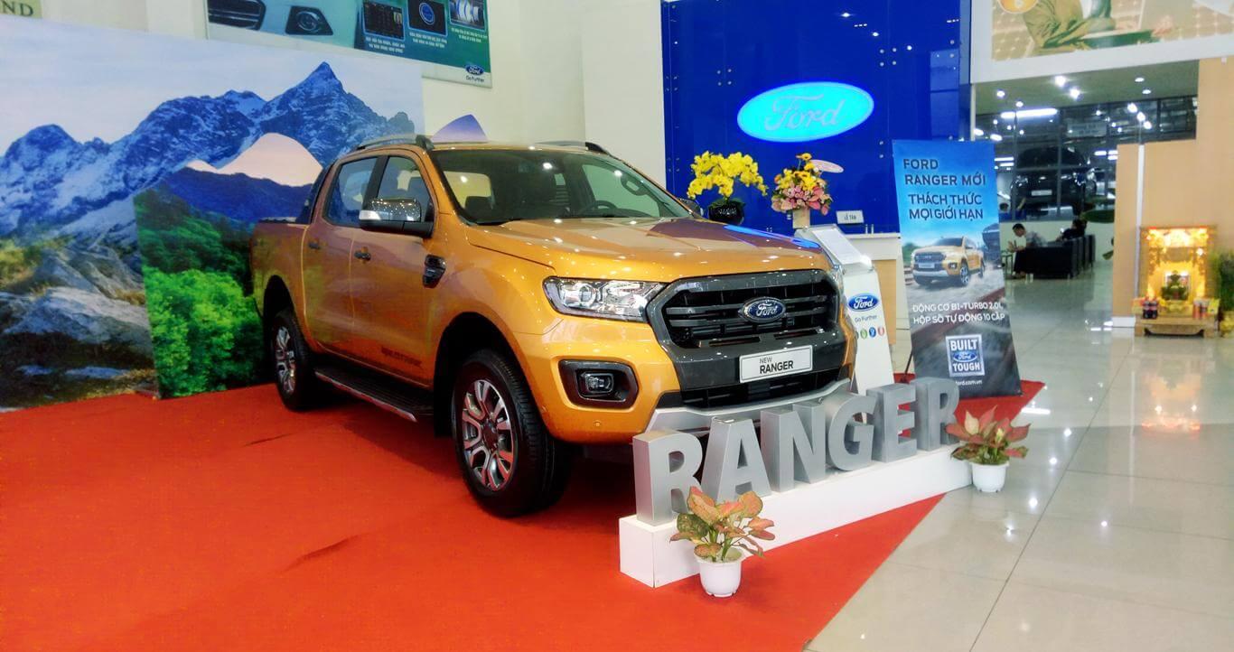 Tư vấn mua xe bán tải Ford Ranger trả góp