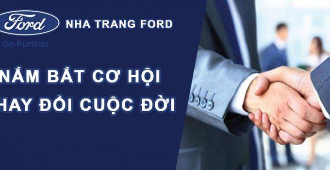 Ford Nha Trang tuyển dụng nhân viên kinh doanh 2021