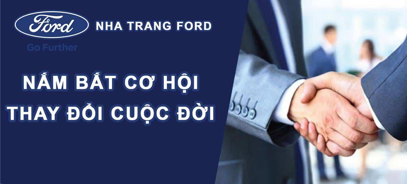 Tuyển dụng nhân viên kinh doanh tại Nha Trang Ford